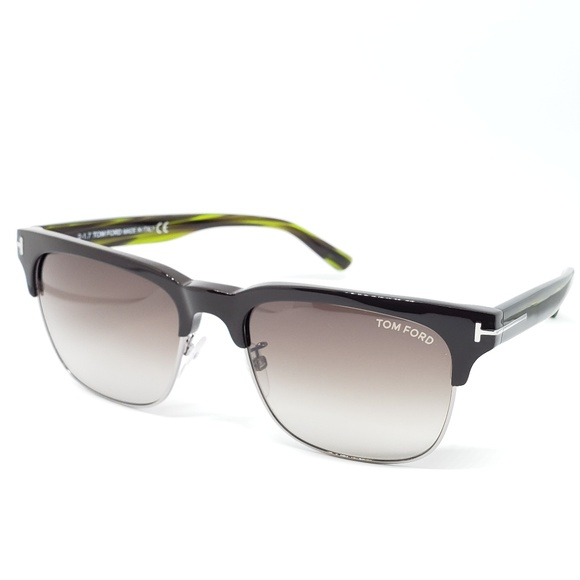 ccb76ffe210 Tom Ford Sunglasses Brown Green frame Louis